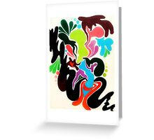 Love Within The Chaos Greeting Card