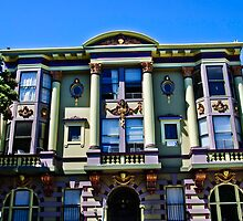 San Francisco Mansion by Alison Cornford-Matheson