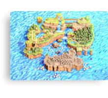 New Super Paper Mario World 3D Deluxe U Canvas Print