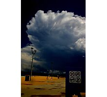 Storm Warning, Maroubra Photographic Print