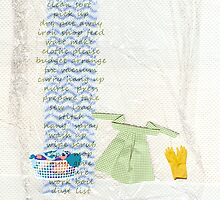 Domesticity Collage no 1 - Washday by thepatternroom