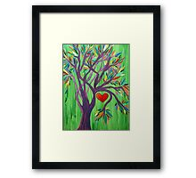 Where My Heart Resides Framed Print