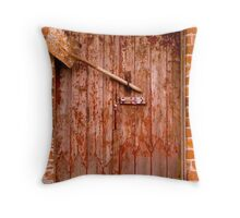 Door & Shovel Throw Pillow