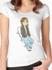 Grump Women's Fitted Scoop T-Shirt