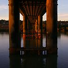 Photographer's View of the Murray Bridge by Michael Humphrys