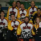 Old Boys Masters Team at Vic Championships 2008 by Lilydale Rats Inline Hockey Club