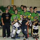 Rats 16 and Under Team at Vic Championships 2008 by Lilydale Rats Inline Hockey Club