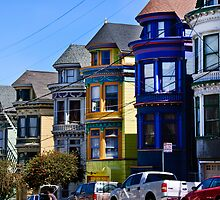 San Francisco Victorian Houses by Alison Cornford-Matheson