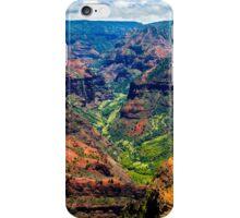 Waimea Canyon iPhone Case/Skin