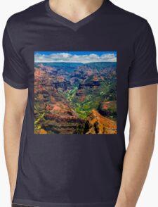 Waimea Canyon Mens V-Neck T-Shirt