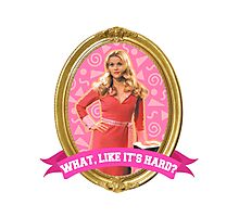 Elle Woods Frame Photographic Print