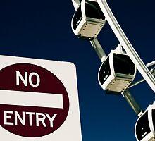 No Entry by Matthew Stewart