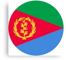 Roundel of the Eritrean Air Force  Canvas Print