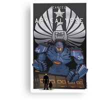 "Pacific Rim ""Cancel the Apocalypse"" Canvas Print"
