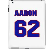 National baseball player Aaron Loup jersey 62 iPad Case/Skin
