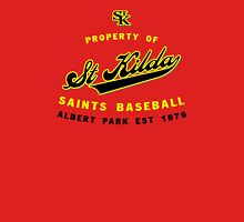 Property of St Kilda Baseball Club Script T-Shirt Red Unisex T-Shirt