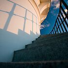 Lighthouse Stairs by Phil Bain