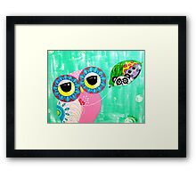 Heartstrings Framed Print
