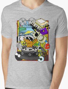 Beat Dumps Mens V-Neck T-Shirt