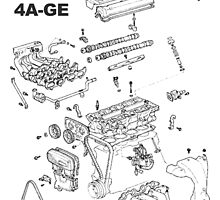 4A-GE Engine Diagram by doublew