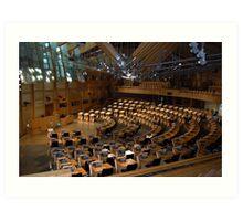 The Scottish Parliament, Edinburgh Art Print