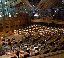 The Scottish Parliament, Edinburgh by Tom Clark