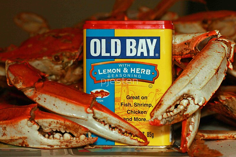 """The Crabs and Old Bay -"""" by pjesten 