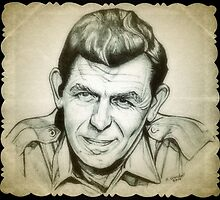 Andy Griffith drawing by RobCrandall