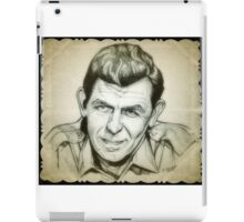 Andy Griffith drawing iPad Case/Skin