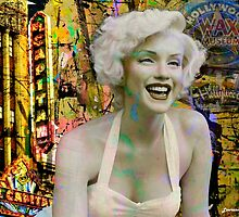 Marilyn on Hollywood Blvd. by Larry3