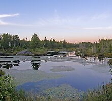 Northern Ontario Evening by marchello