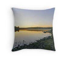 Northern Ontario Morning Throw Pillow