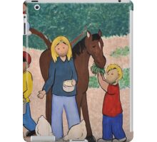 rural scene iPad Case/Skin