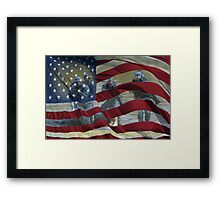 Liberty and Justice for All Framed Print