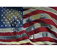 Liberty and Justice for All Photographic Print