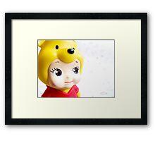 Cute Pooh Framed Print