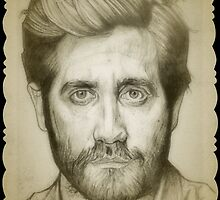 Jake Gyllenhaal drawing by RobCrandall