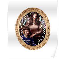 Lindsay and Sam Weir Frame Poster