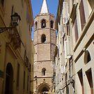 Church in Alghero, Sardinia by oscars