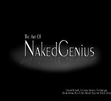"Book titled ""The Art of Naked Genius"" by Kinnally"