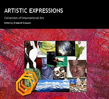 "Art book ""Artistic Expressions"" by Kinnally"