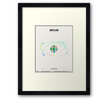 Beryllium - Element Art Framed Print