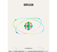 Beryllium - Element Art Photographic Print