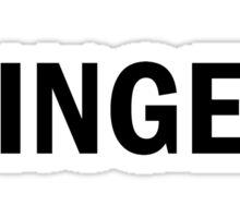 Glee: Ginger Sticker