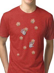 A Handy Collaboration  Tri-blend T-Shirt
