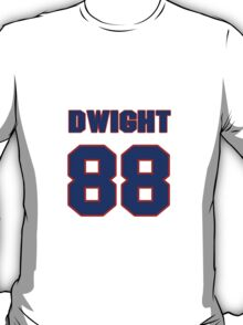 National football player Dwight Scales jersey 88 T-Shirt