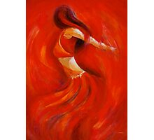 dancing flame Photographic Print
