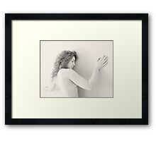 Nude in high-key 7 Framed Print