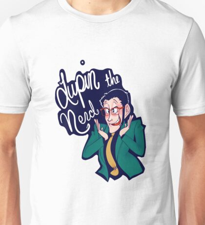 Lupin the Nerd Unisex T-Shirt