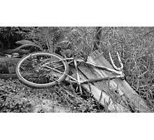 Abandoned Bike Photographic Print